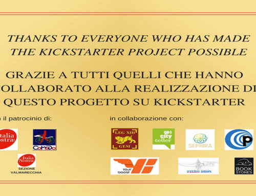 Update Kickstarter, per un libro bilingue su Cesare