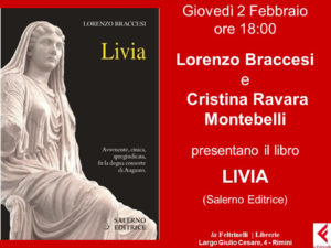 Presentazione Livia di L. Braccesi, Feltrinelli 2-2-2017