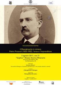 Mostra su Pietro Pirazzoli, Perticara Museo Sulphur