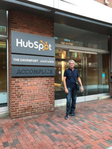 La YourBoost alla sede di Hubspot (Boston) 2017
