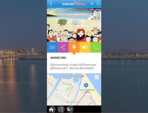L'itinerario della Rimini di Fellini nella App Live in Riviera