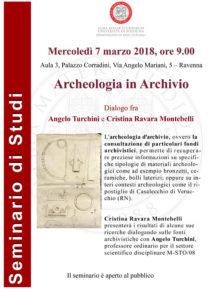 Seminario universitario con Angelo Turchini