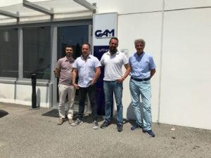 Massimiliano Montebelli e Pietro Berti con Gam International per formazione