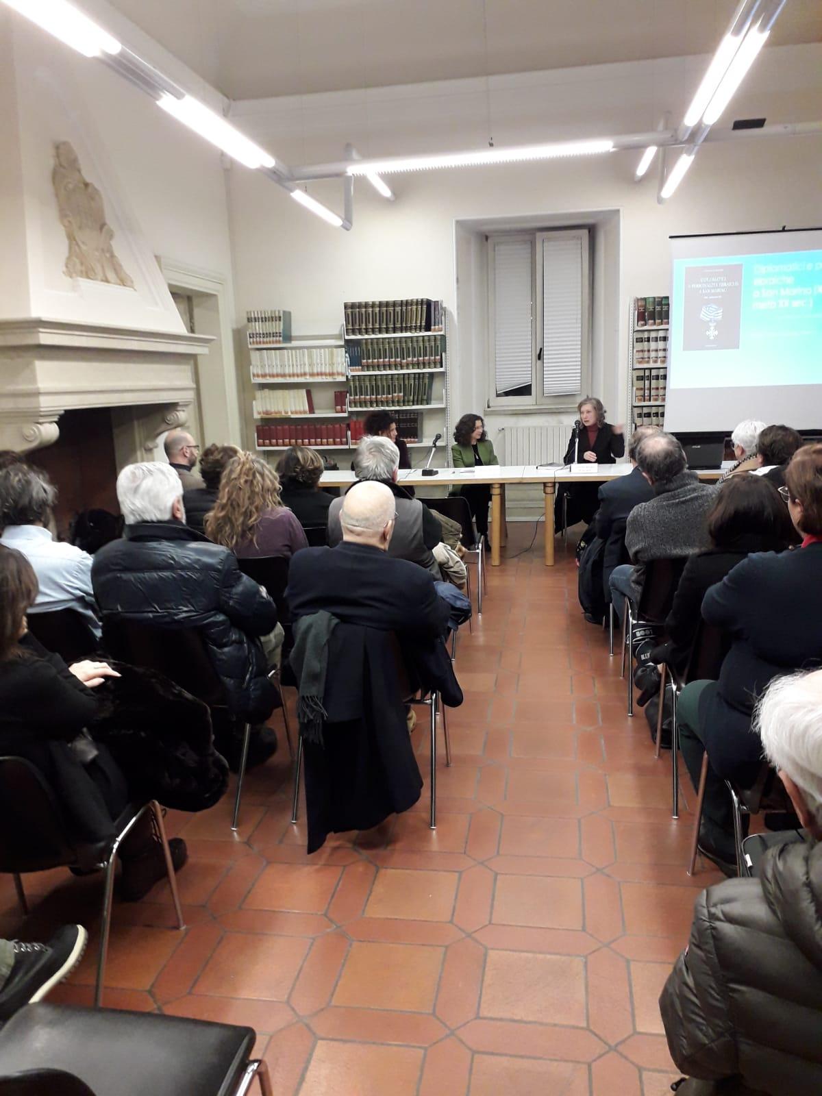 """Cristina Ravara Montebelli presenta libro """"Diplomatici e personalità ebraiche"""""""