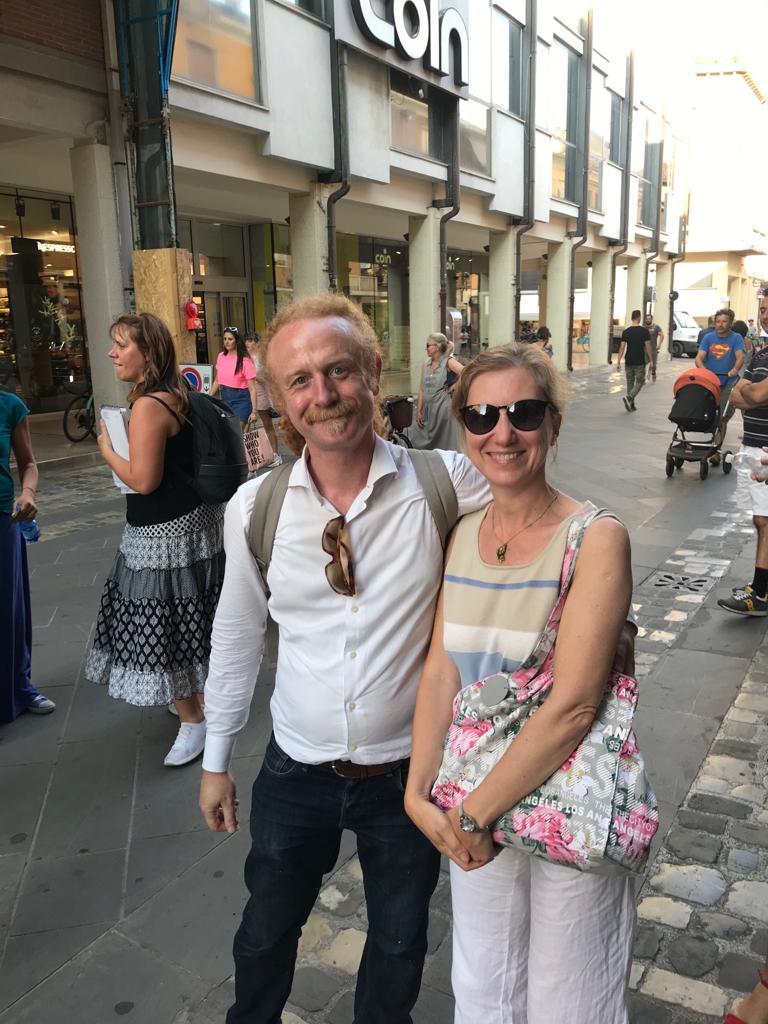 Cristina Ravara Montebelli con Ugo Mendes Donelli 2019