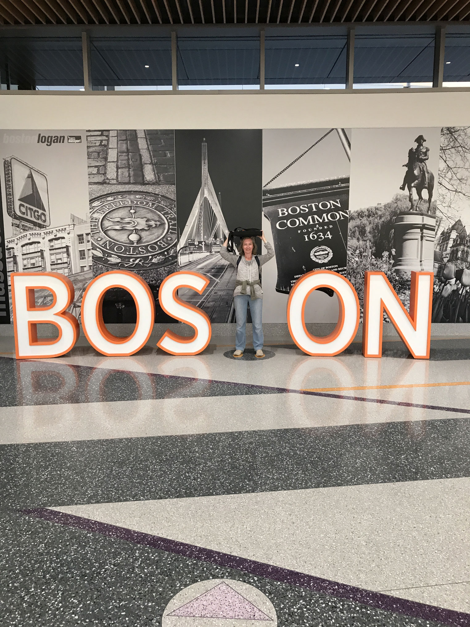 Team YourBoost a Boston Airport 2018