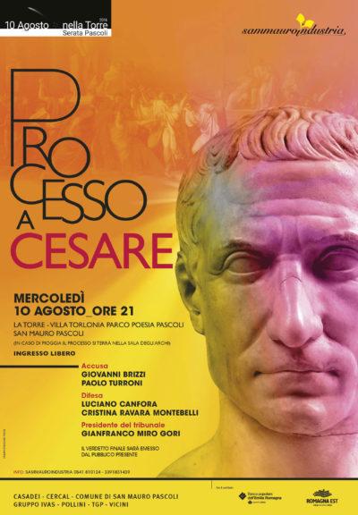 Processo a Cesare 2016 Villa Torlonia san Mauro