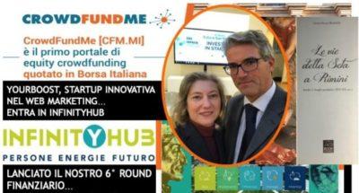 Infinityhub partecipazione a crowdfunding aumento di capitale