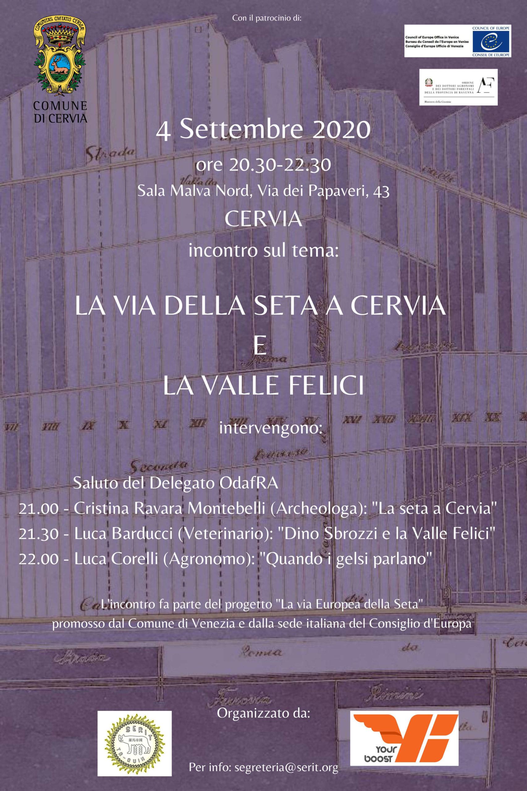 La seta a Cervia, 4 settembre 2020