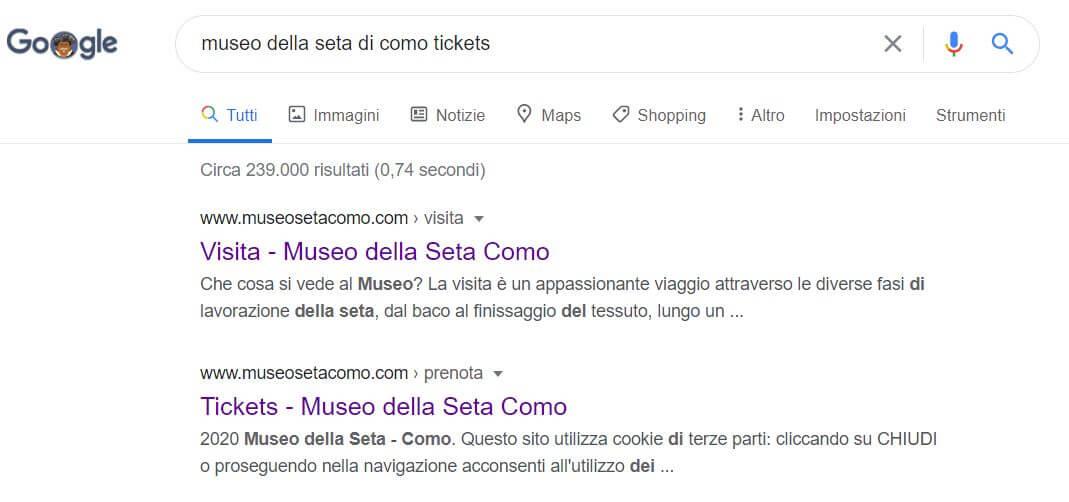 Tickets museo seta di Como