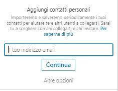 LinkedIn Contatti
