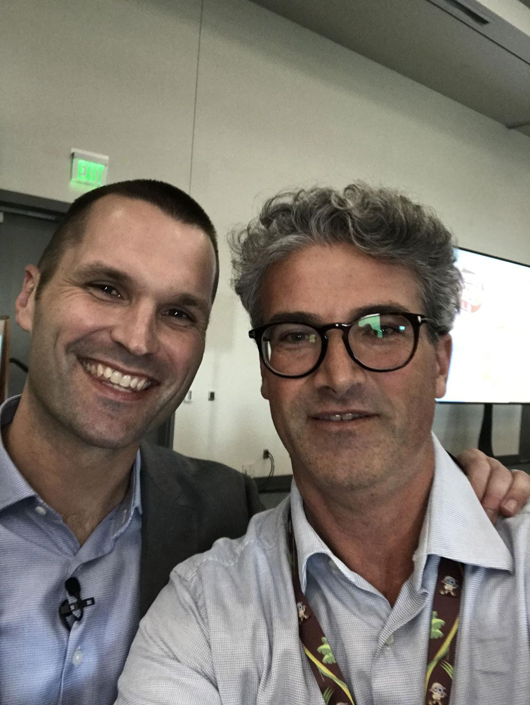 Linkedin Massimiliano Montebelli con Marcus Sheridan