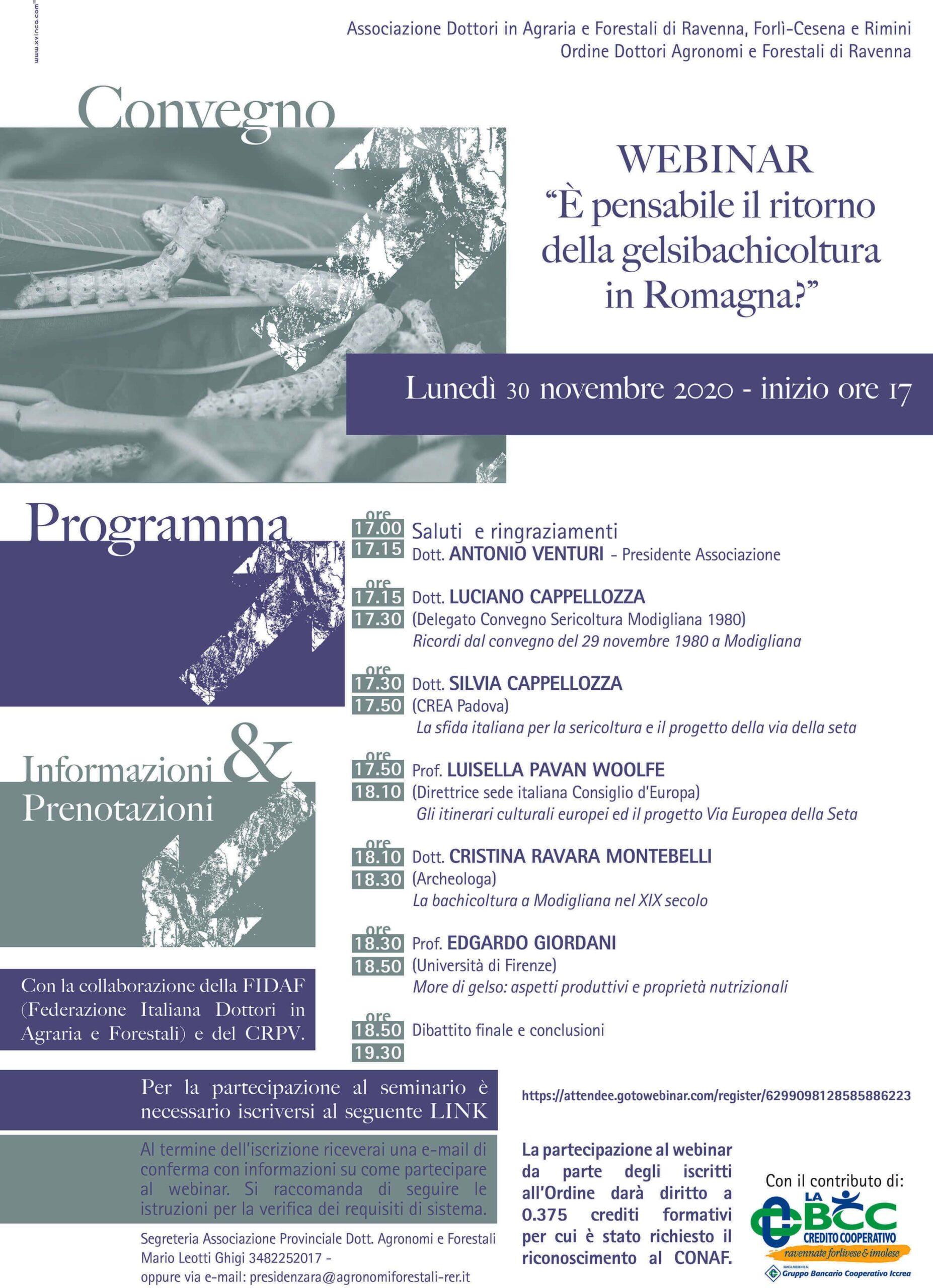 webinar seta 2020 Modigliana